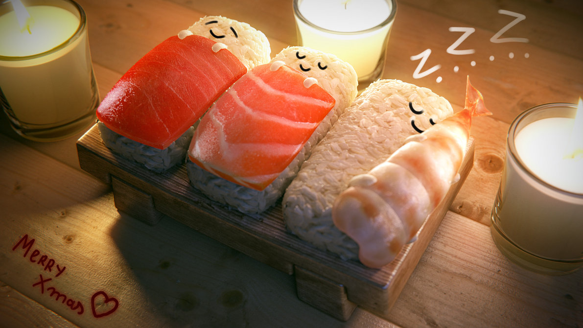 sushi_christmas_by_mrhahn98-d4jrvhu