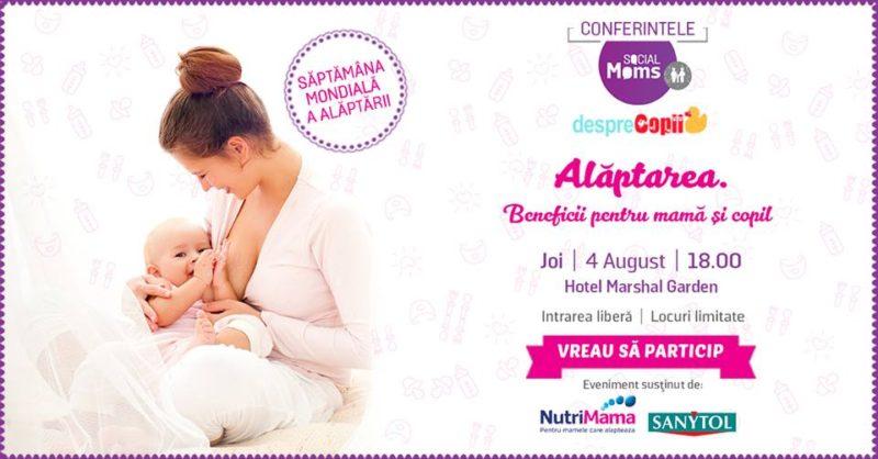 alaptarea, beneficii pt mama si copil