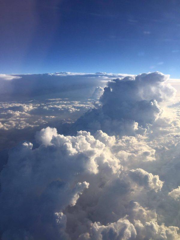 cer din avion