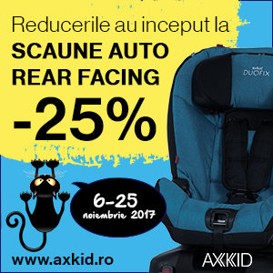 axkid scaune auto black friday