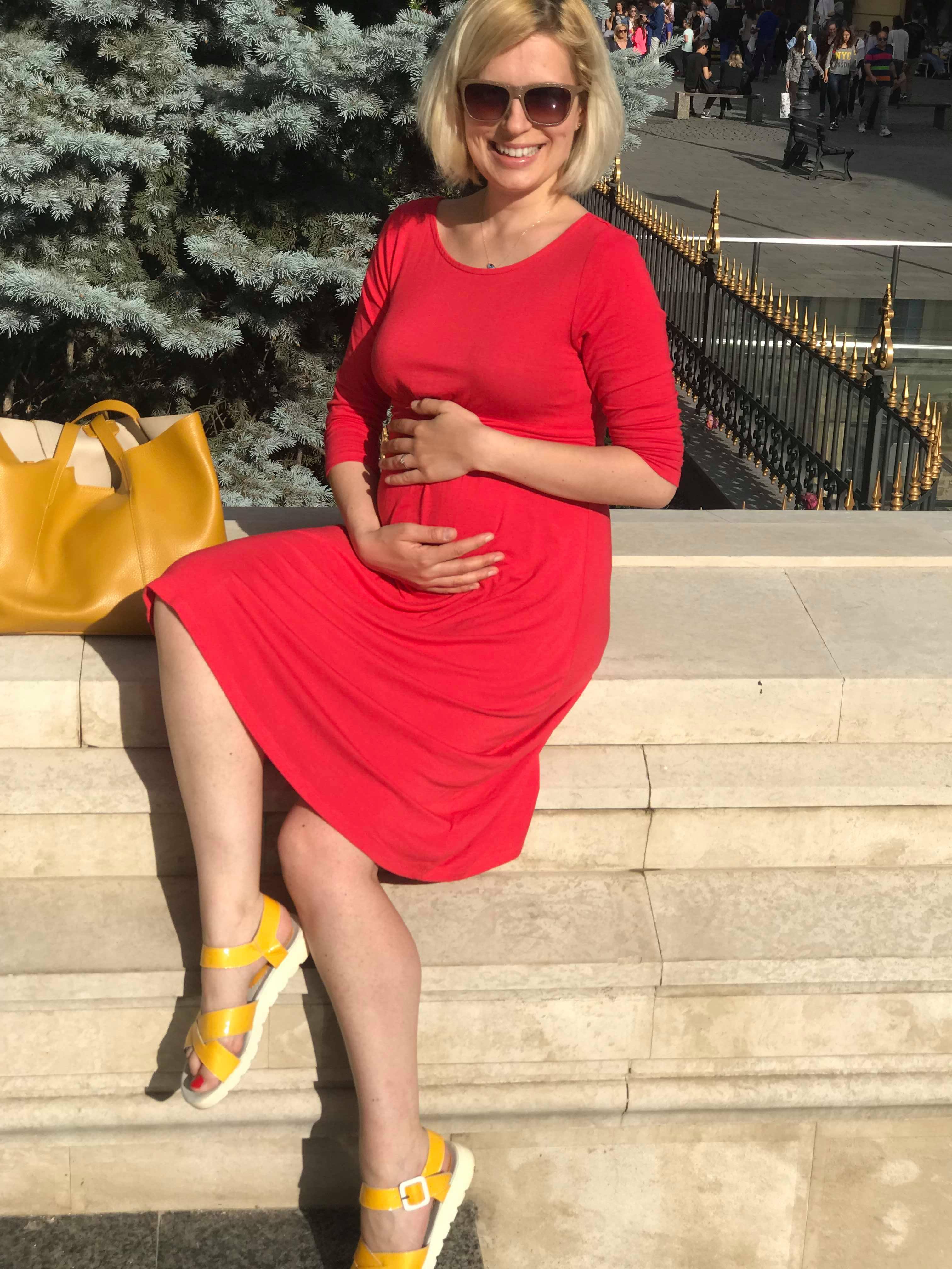 Viața de gravidă între n-ai voie să ții dietă, dar nici să mănânci pentru doi miruna ioani