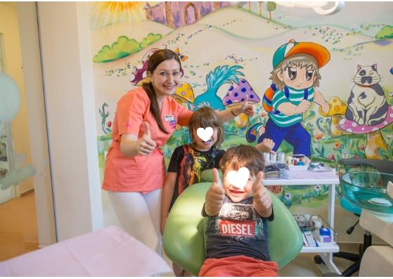 demineralizare anestezie generală copii dentist miruna ioani