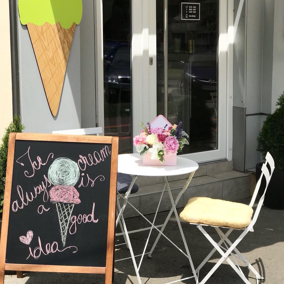 înghețată Sibiu